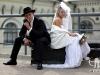 свадебная фотосессия в стиле чикаго