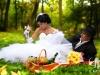романтичная свадебная фотосессия