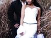 свадебная фото-съемка в камышах