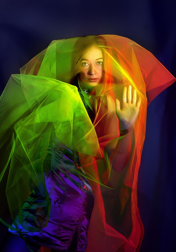 работа с цветными фильтрами